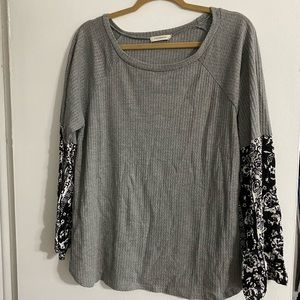 Tops - Gray Top